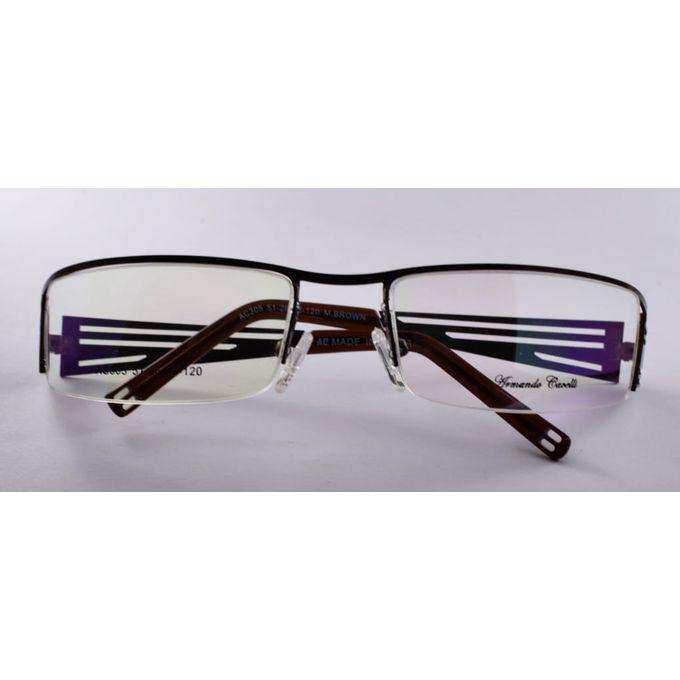 1bcf8a199 نظارة طبية شبابية - اللون بني - مقاس 51 - Jumia مصر