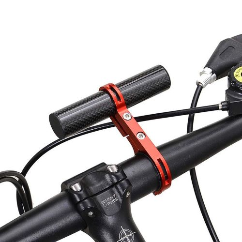 Cycling Bike Bicycle HandleBar Lamp Bracket Holder Extension Extender Mount.