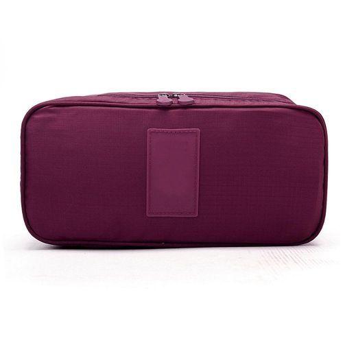 e56b5d3a0 Universal Women Multifunction Travel Cosmetic Bag Makeup Pouch Bra  Underwear Storage Case