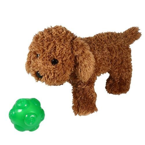 Puppy Interactive Training Throwing Ball Toy(Green)