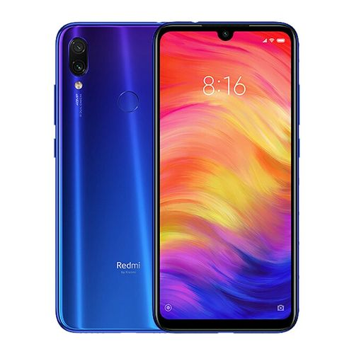 موبايل شاومي ريدمي نوت 7 سعر موبايل شاومي ريدمي نوت 7 XIAOMI Redmi Note 7 - 6.3 بوصة 64 جيجا بايت ثنائي الشريحة 4G موبايل شاومي ريدمي أزرق