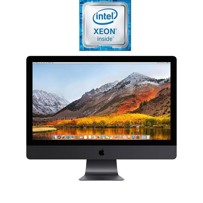 iMac Pro 27-inch with Retina 5K Display (Late 2017) - Intel Xeon W - 32GB RAM - 1TB SSD - 8GB GPU - macOS - Space Gray