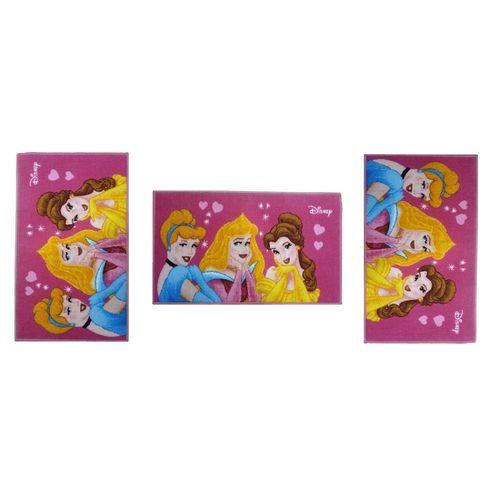 Kids Princesses Door Mat - 80*50 Cm - 3 Pcs