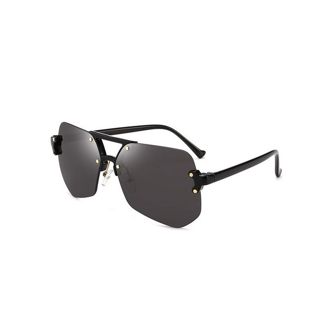 198ac568c أوروبا والولايات المتحدة غير النظامية رمادي النمل النظارات الشمسية بدون إطار  الرجال والنساء النظارات الشمسية النظارات