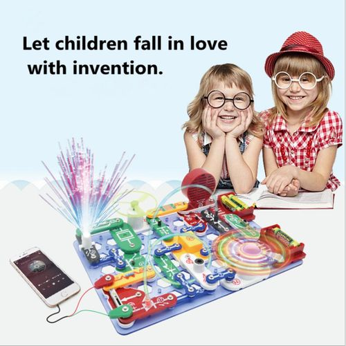 DIY Electronics Circuits Blocks Kids Educational Science Experiments Kits  Toy AU