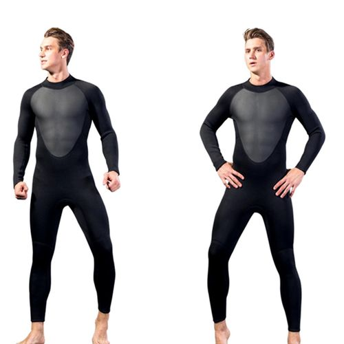 84b1a1c95e Generic 【Flash Deal】MEN WetSuit 3MM Full Body Suit Super Stretch Diving Suit  Swim Surf Snorkeling