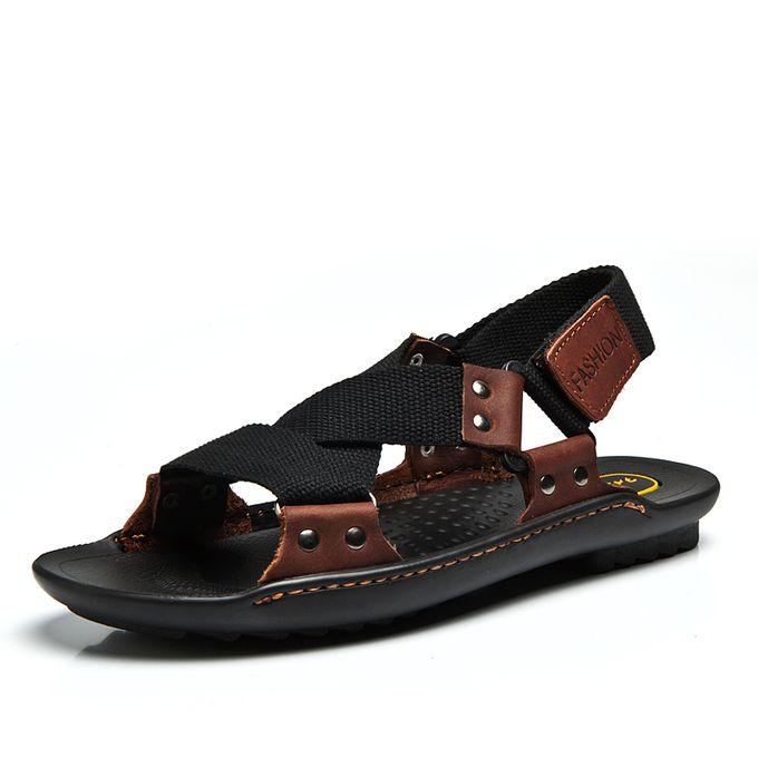 307c70783 Sale on Men s Textile Strap Sandals Breathable Beach Sandals