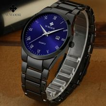 f7ba8f95a2ab7 Watches Men WWOOR Stainless Steel Waterproof Watches Wrist Watch 8830