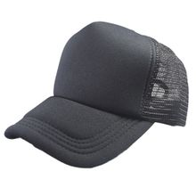 094e47d253f Xiuxingzi Summer Solid Adult Mesh Cap Fashion Baseball Cap Women And Men  Sun Hat