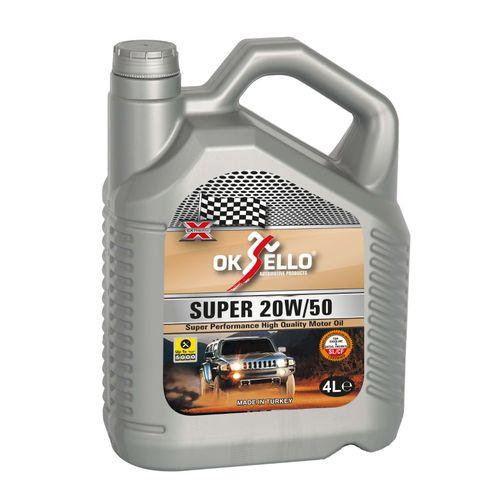 20w50 Car Oil - 4L - Super Plus