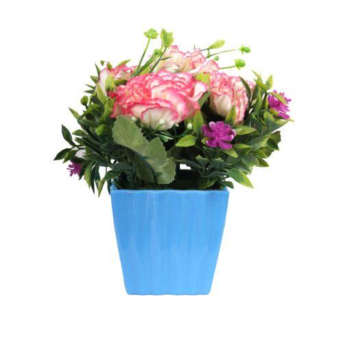 Generic 022 Modern Flower Vase - 15cm - Blue  sc 1 st  Jumia Egypt & Order 022 Modern Flower Vase - 15cm - Blue at Best Price - Sale on ...