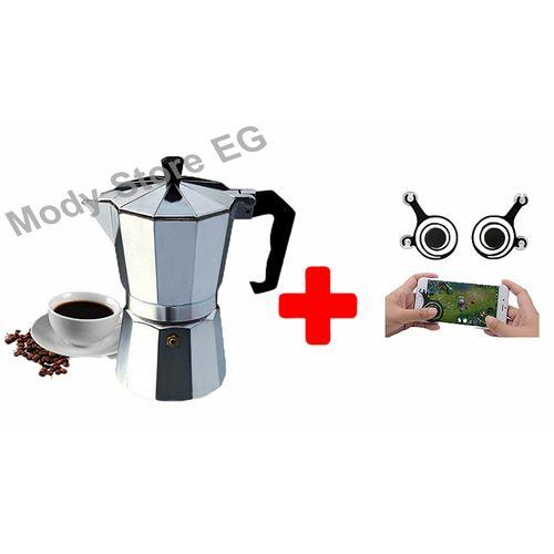 Espresso Coffee Maker - 6 Cups+Free Mobile Joy Stick