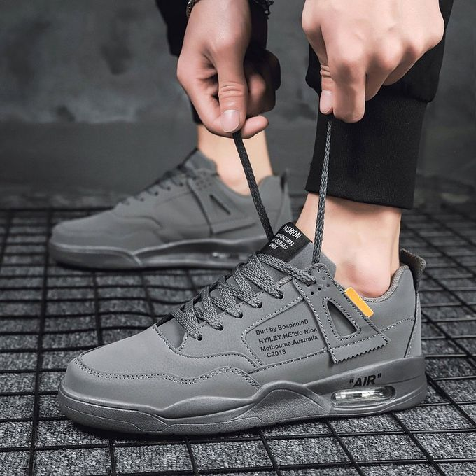 best website ff0f9 280f6 Men's Shoes Sport Shoes Nike Air Cushion Shoes Sneakers-Grey