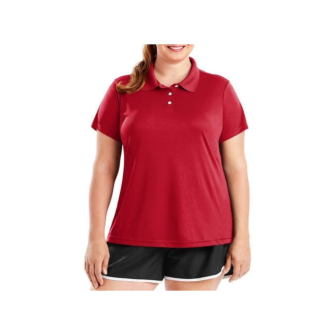 Hanes Sport Womens Cool DRI Performance Polo (50+ UPF)