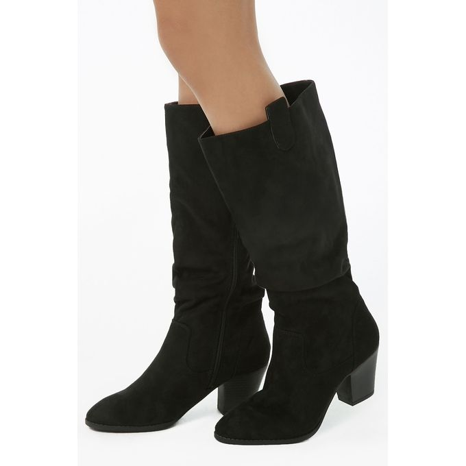 ff9342899d4fe Order Slouchy Faux Suede Tall Boots at Best Price - Sale on Slouchy ...