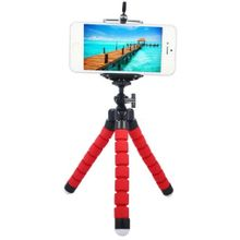 ff8664e4213941 Flexible Octopus Bracket Mount Adjustable Accessories Support For Cell Phone  & Digital Camera - Red