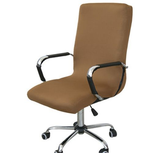 Swivel Computer Chair Cover Stretch Office Armchair Protector Seat Decoration