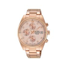 0e43307fcc34f ALBA Ladies  039  Hand Watch PRESTIGE Stainless Steel Bracelet and Pink  Dial AM3212X1
