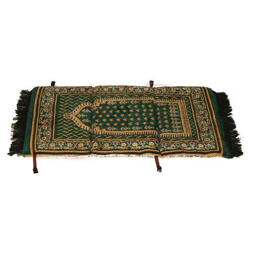 Two-sided Medical Prayer Rug With A Back Brace - 110×65×3 Cm