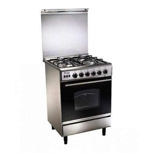 C5555ss-186-L Stainless Steel Gas Cooker - 4 Burners