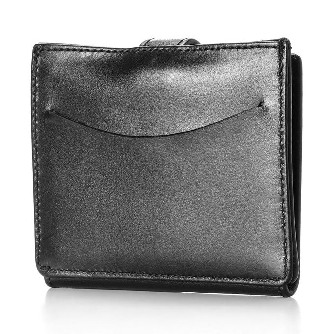 Business Card Wallet Black One Size