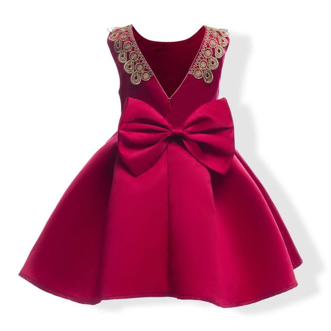1337f0530e66 Child Girls Princess Dress Kids Party Flanger Wedding Bridesmaid Formal  Dresses