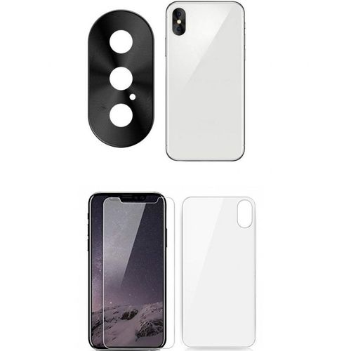 los angeles 14c61 22a62 IPhone XS MAX IPhone X Front & Back Screen Protector & Camera Lens Case