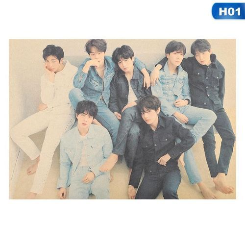 Kpop BTS Love Yourself: Tear 'R' Edition Poster H01