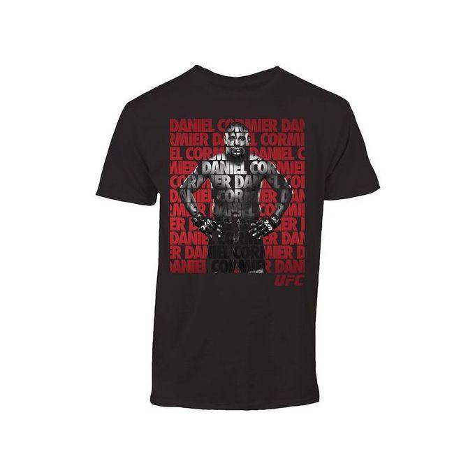 0529914d743a2 Custom Funny T Shirts UFC Daniel Cormier Repeat Mens Black T-shirt Short  Sleeve Men's Casual T-shirt