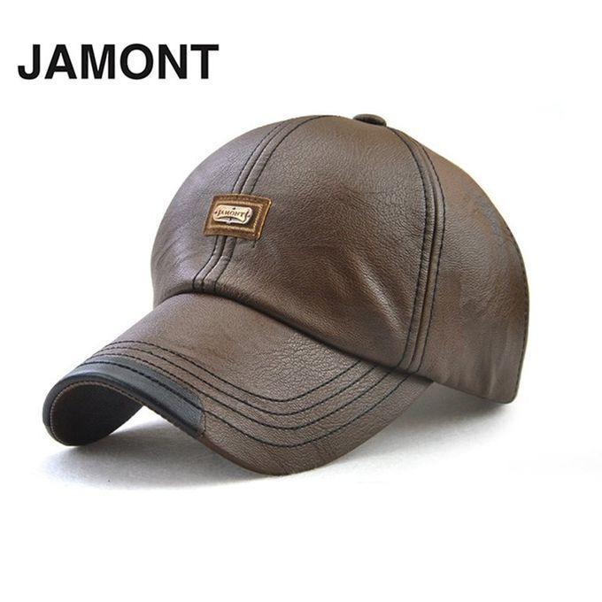 sale on jamont 12966 soft men baseball cap male hat fashion pu
