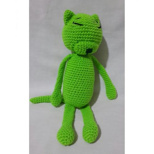 Satın Al Amigurumi Tığ Kedi Doll Çıngıraklı Oyuncak Hediye El ... | 500x500