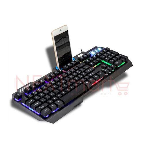 GR-Q10 Gaming Keyboard - 104 Keys - Backlit - Gray