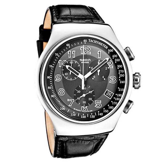 301b94b95 عرض عيد ميلاد جوميا! تسوق YOS440 Leather watch – Black - جوميا مصر