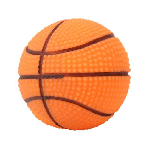 1PC Pet Training Playing Chewing Sound Ball Dog Puppy Squeaky Toy(Basketball)