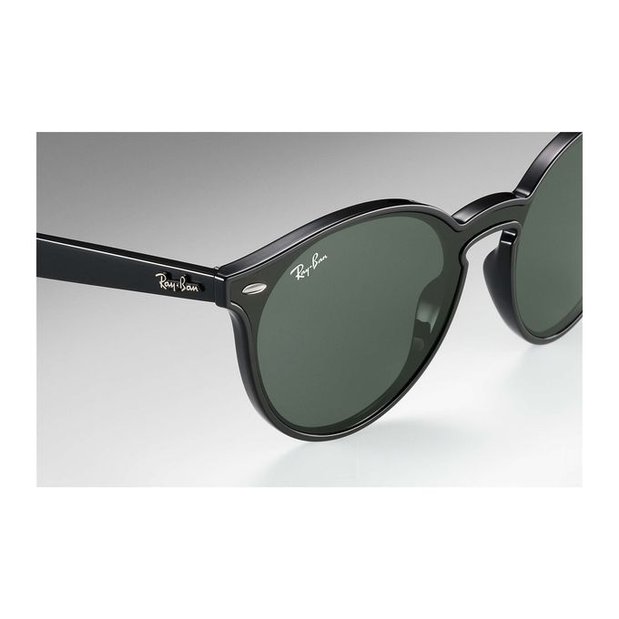ef33c26969 ... Ray-Ban BLAZE RB 4380N BLACK G15- CLASSIC GREEN Unisex Sunglasses ...