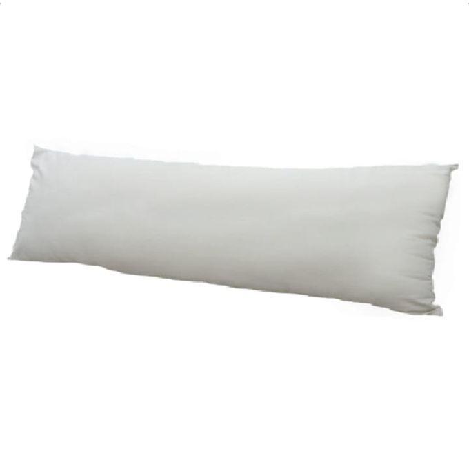 مخدة مريحة فابير  مقاس – ١٨٠سم لون أبيض –  مصر
