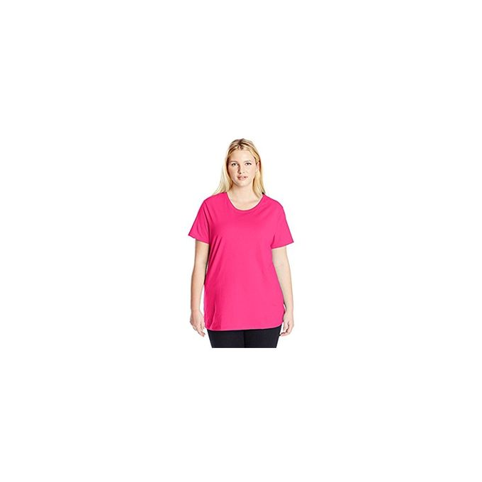 Just My Size Womens Plus-Size Short Sleeve Tee