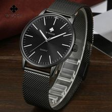 8f6dcb877c3cb WWOOR Brand Luxury Men Quartz Watch Men Waterproof Ultra Thin Clock Male  Stainless Steel Sports Watches
