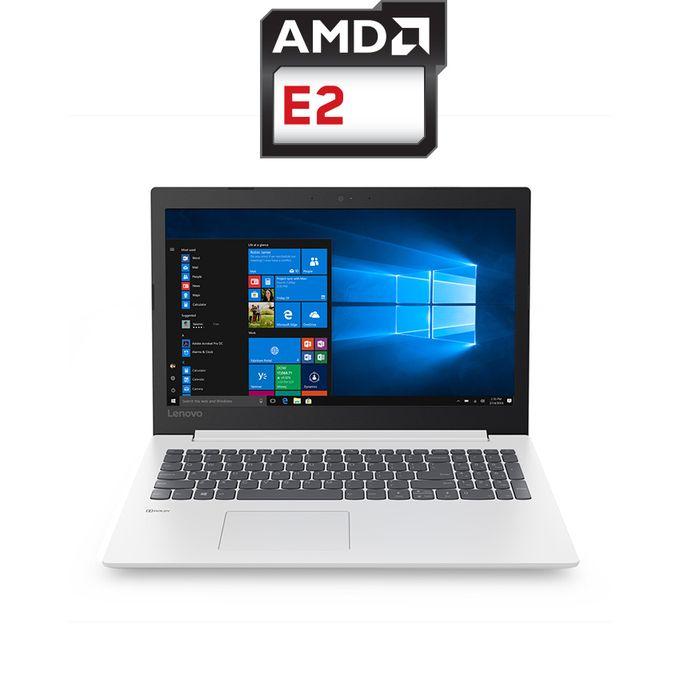 IdeaPad 330-15AST Laptop - AMD E2 - 4GB RAM - 1TB HDD - 15.6-inch HD - AMD GPU - DOS - Blizzard White