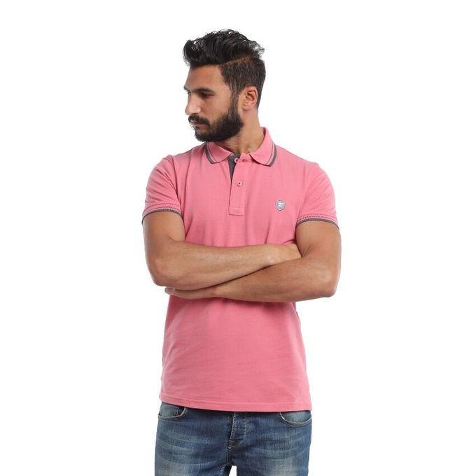 8894a5d2 Sale on Men Polo Shirt Rens Cotton Rose | Jumia Egypt
