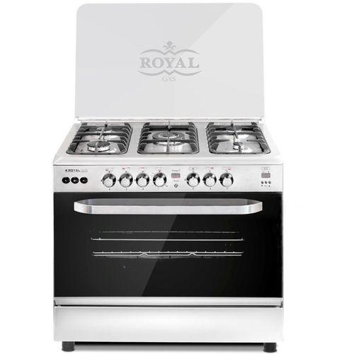 Cooker 5 burners - Digital Temperature sensor - 90 cm