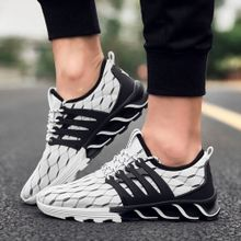 ab39db25f Men Running Shoes Sport Shoes Fashion Sneakers Men's Breathable Casual  Athletic Trainers