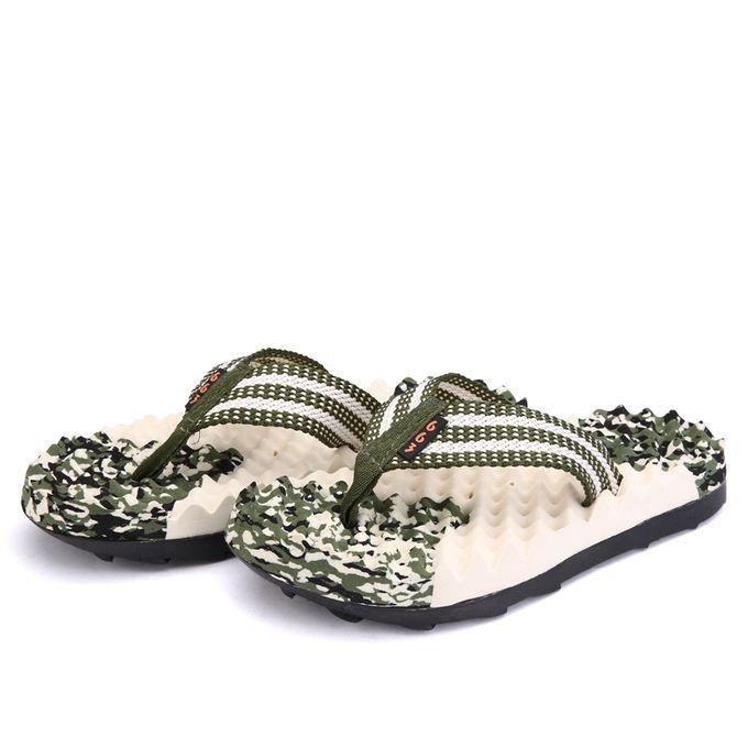Men S Slippers Non Slip Comfortable Thongs Sandal Breathable Flip Flops