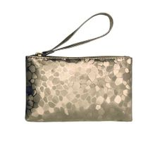 8abeb68bc Fashionable Style Mobile Phone Bag Women Lady Smooth PU Leather Clutch  Handbag Light Gold
