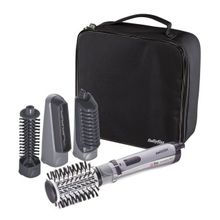 a7f040c62c5ca 2735E Hair Styler Rotating Brush with 4 attachments and bag 1000 watt Ionic