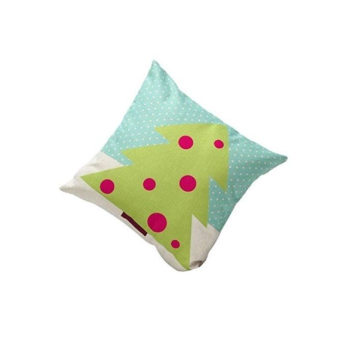 Sankuwen Home Decoration Christmas Pillow Cushion Cover (Green Tree) –  مصر