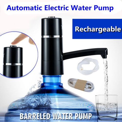 Portable Electric Water Pump Dispenser w/ Switch for Gallon Bottled Drinking