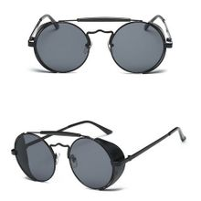 cc99f98ab53 Tanson Colorful Cool Fashion Mens Womens Retro Vintage Steampunk Sunglasses  Round Eyewear
