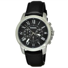 89932fe37fa37 Fossil Grant Chronograph Black Dial Men  039 s Watch - FS4812