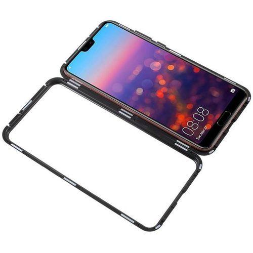 Honor 8X Magnetic Adsorption Metal Case - Black